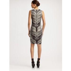 HELMUT LANG S Gradient Print Jersey Dress